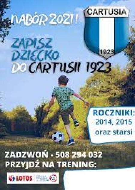 GKS Cartusia 1923 - nabór